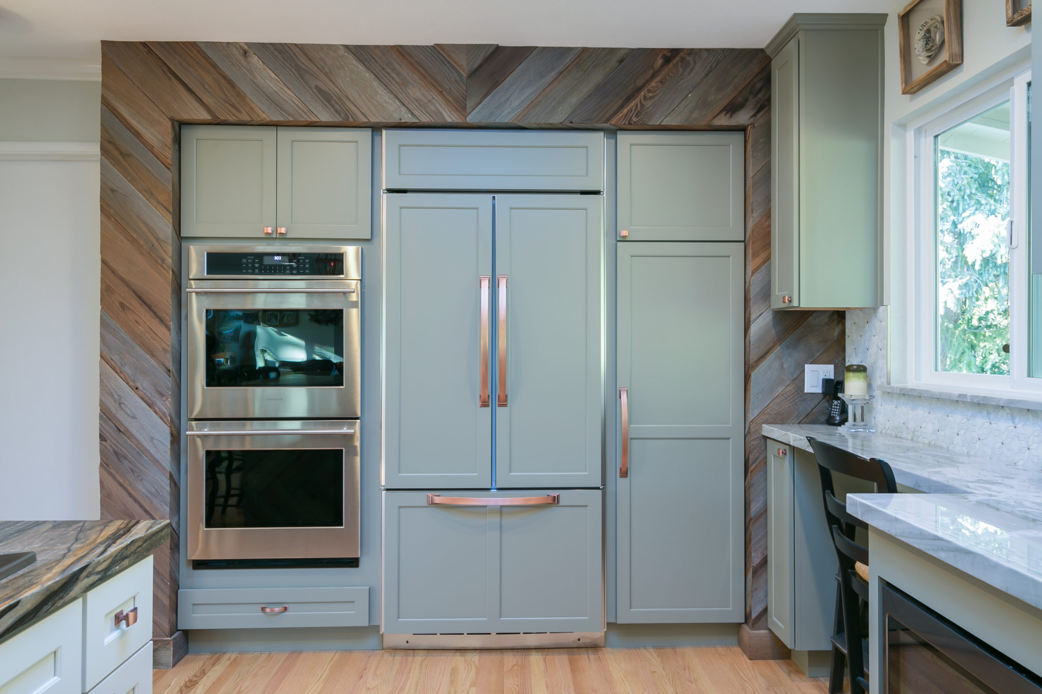 Integrated Kitchens | Rustic Mission Style